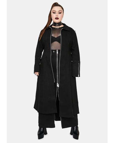 Truly Tragic Badlands Trench Coat