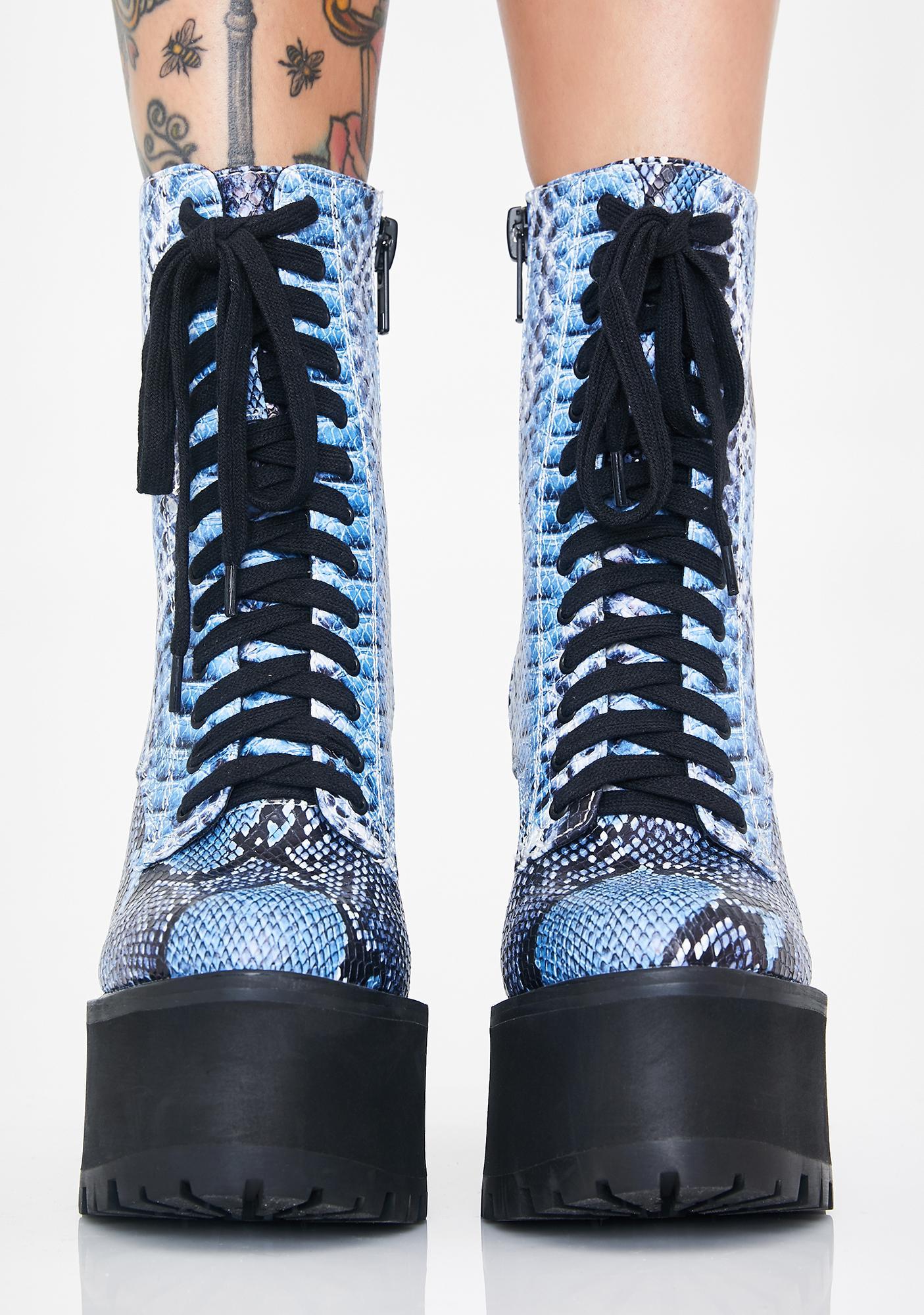 Poster Grl Bossy Bloodline Platform Boots