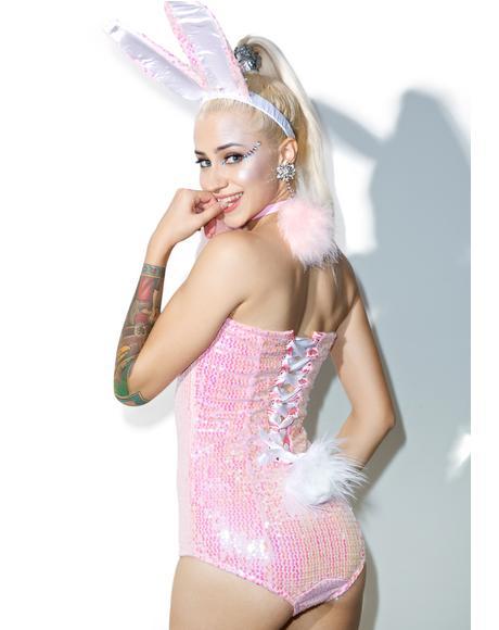 Glitzy Bunny Babe Set