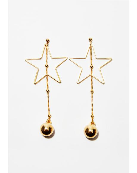 Star Lit Up Earrings