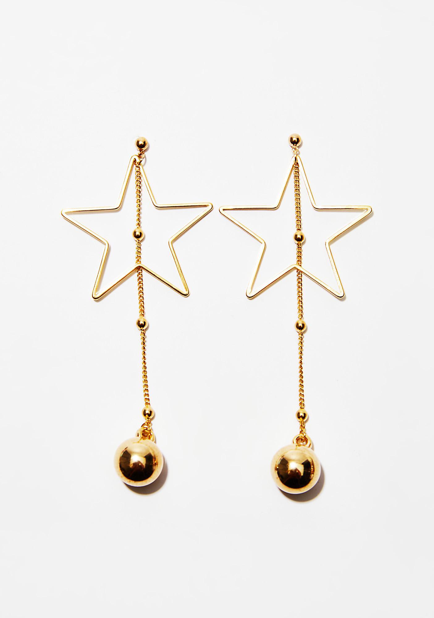 Star Lit Up Earrings