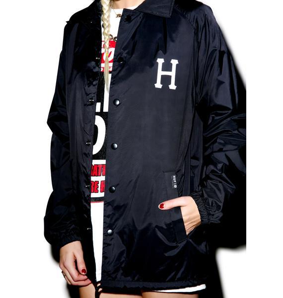 HUF X Thrasher Classic H Coaches Jacket