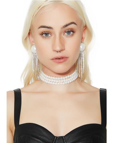 Pearly BB Earrings
