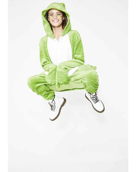 The Frog Princess Onesie Costume