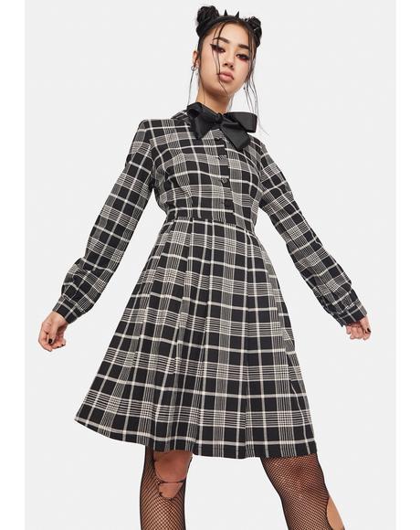 Double Trouble Plaid Dress
