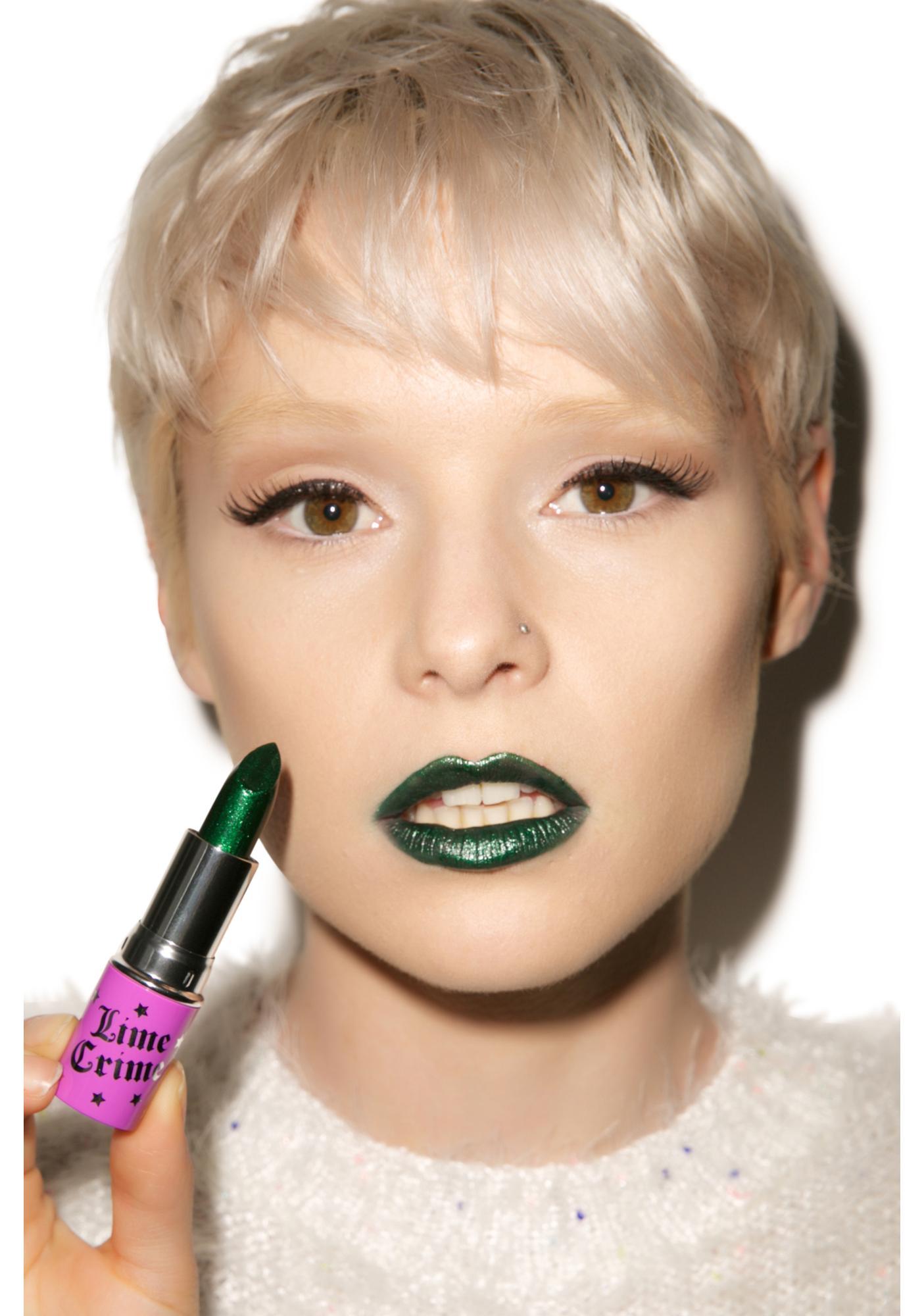 Lime Crime Serpentina Opaque Lipstick