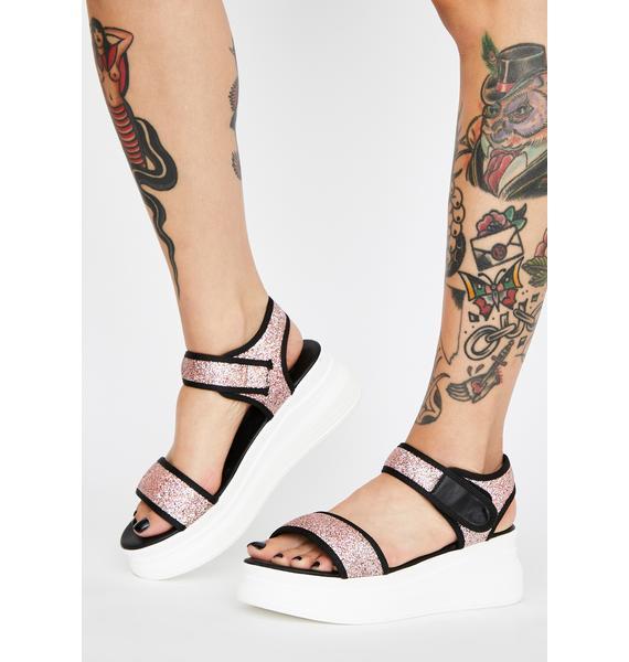 Kiss OMW Platform Sandals