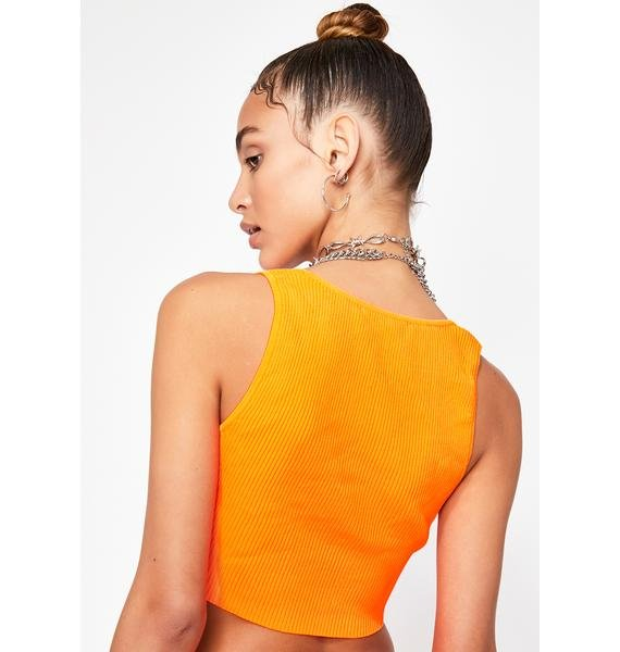 Juicy Stay Chill Crop Top