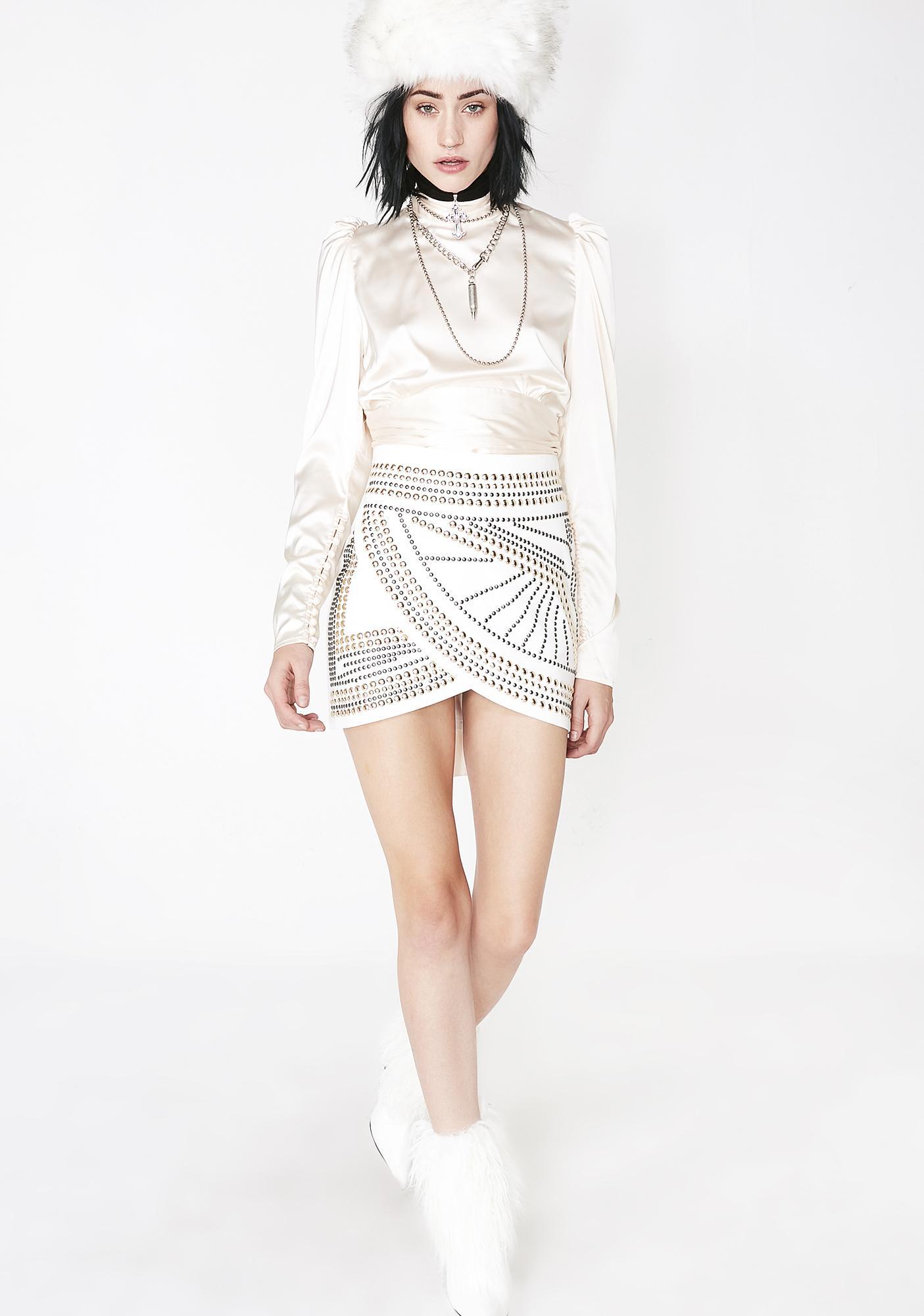 e7982c4d4 ... Pure Rock N' Roll Queen Mini Skirt ...