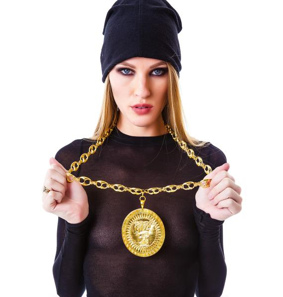 Joyrich x Giza Shield Necklace