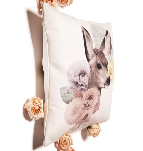 Doe n' Daisies Pastel Pillow