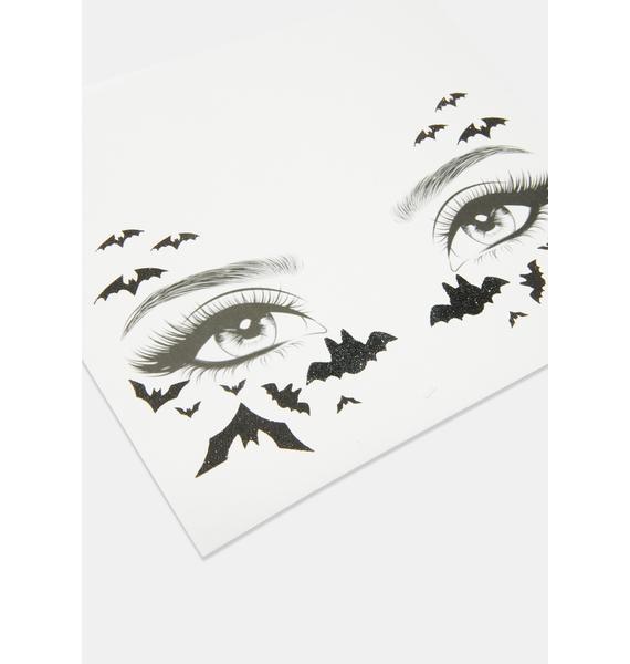 Bat Face Stickers