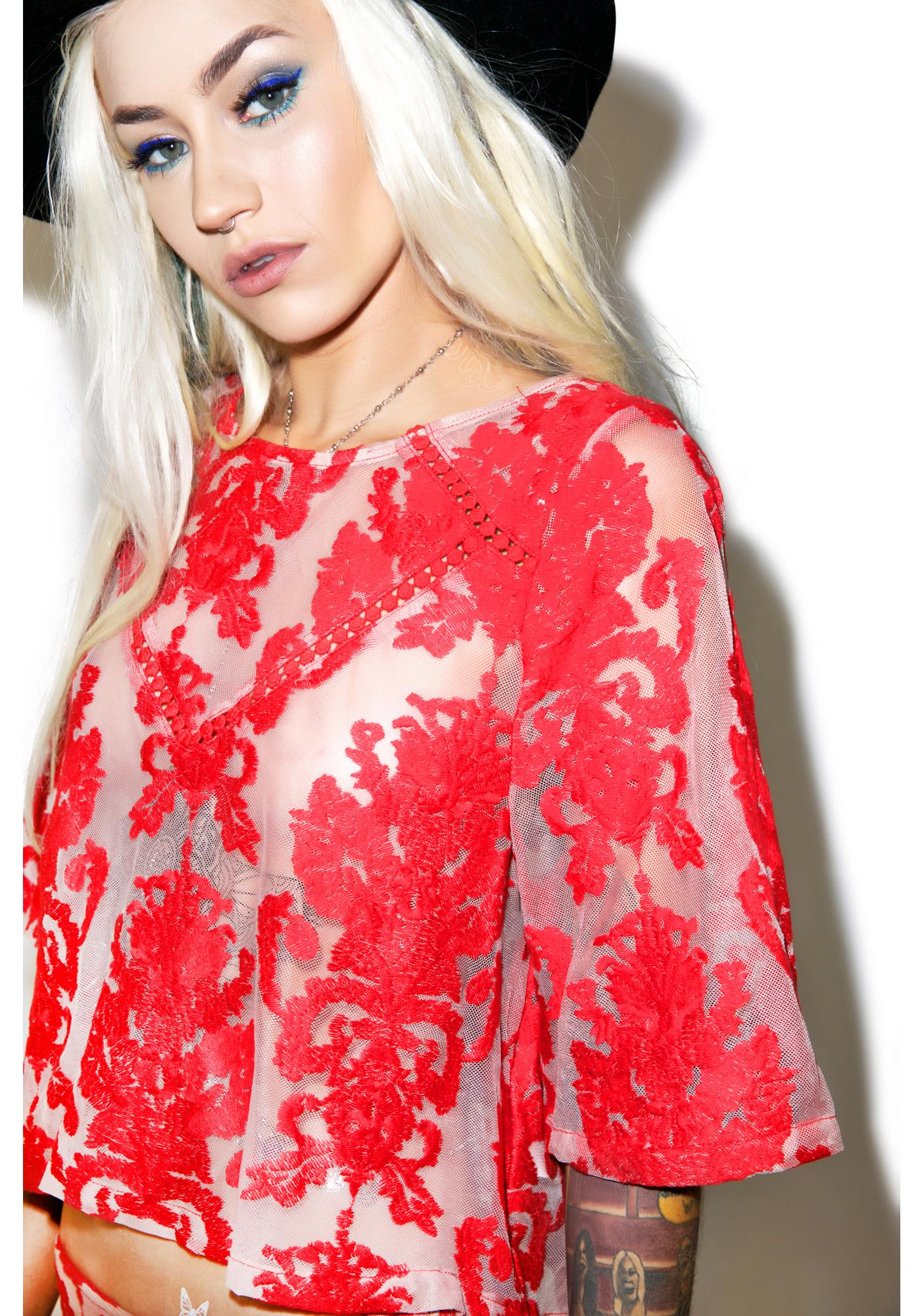 Mink Pink Crime of Passion Top