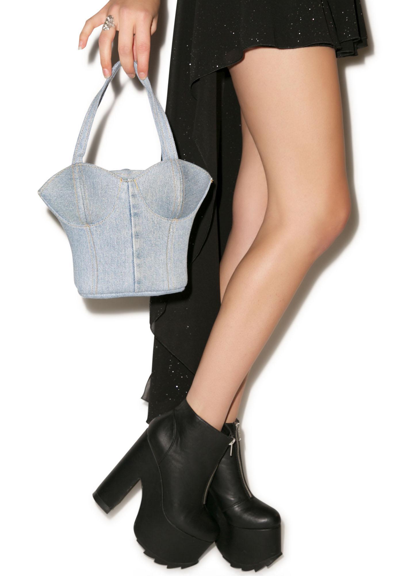 Bustin' Yer Chops Bustier Bag