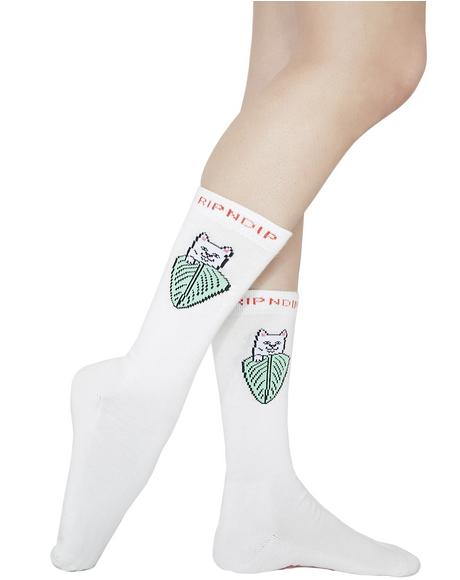 Nermal Leaf Socks