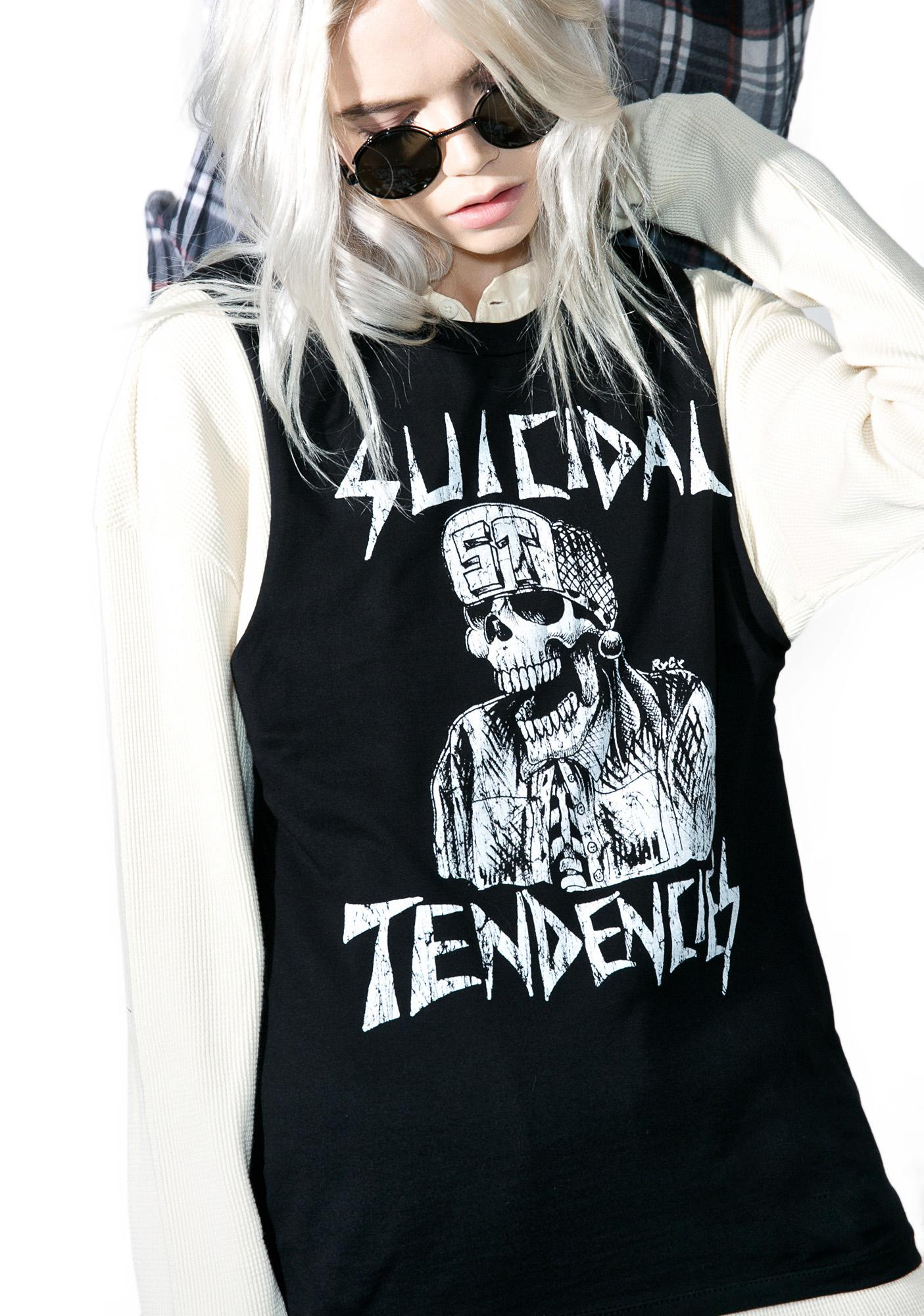 Suicidal Tendencies BH Flipskull Muscle Tee