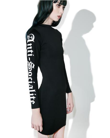 Anti-Socialite Bodycon Dress