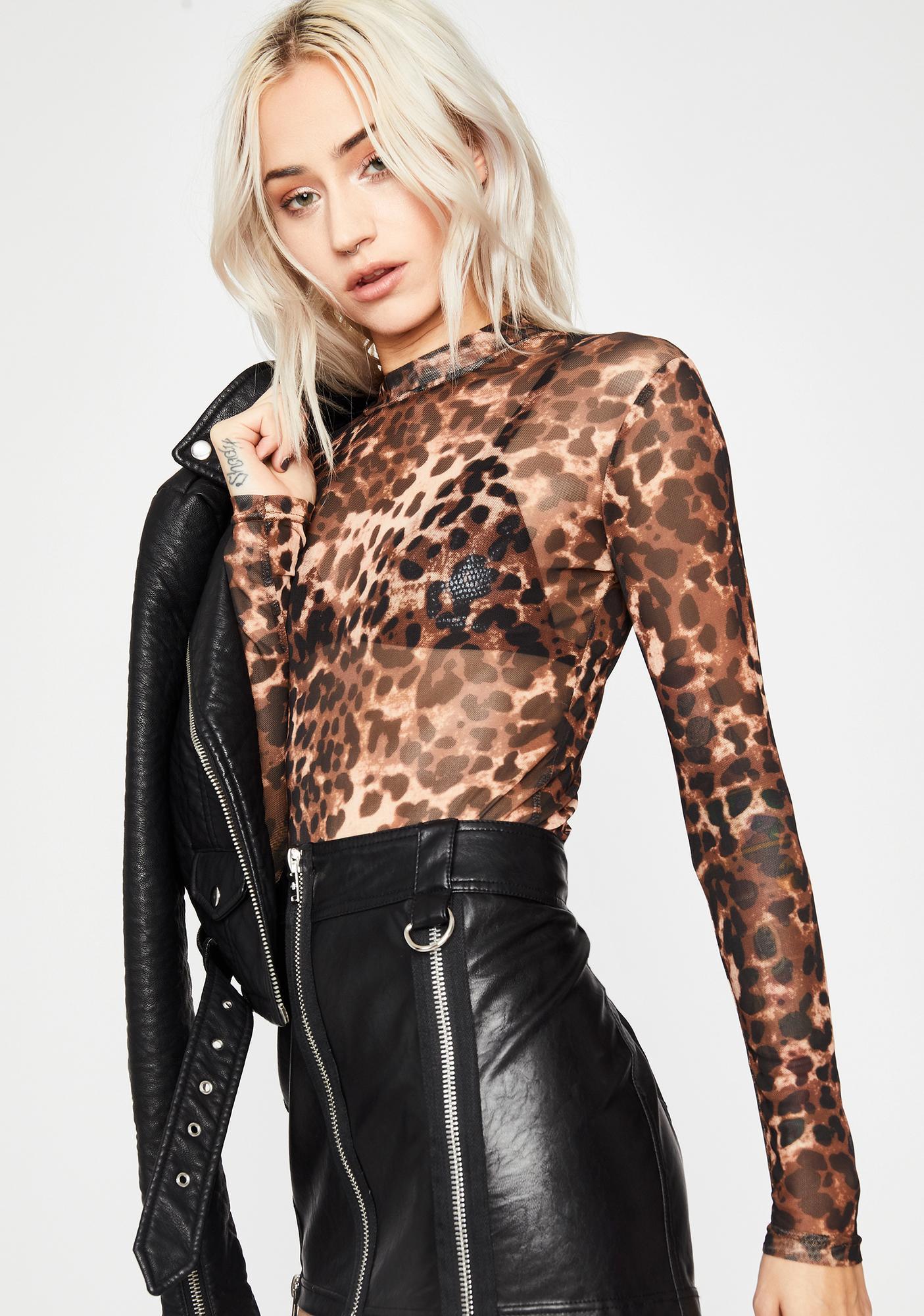 Wild Wifey Leopard Top