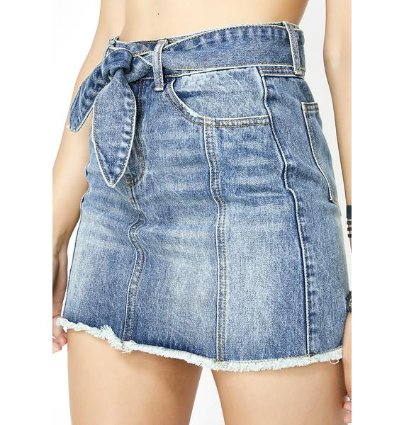Own It Denim Skirt