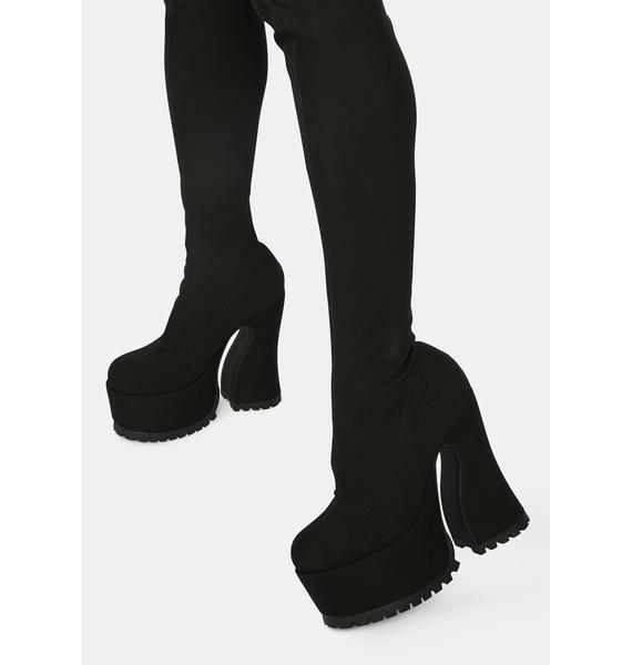 Current Mood Dame Of Desire Thigh High Boots