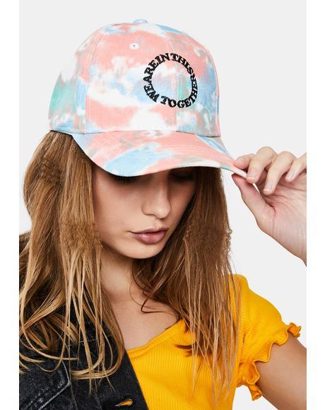 Smile Tie Dye Baseball Hat