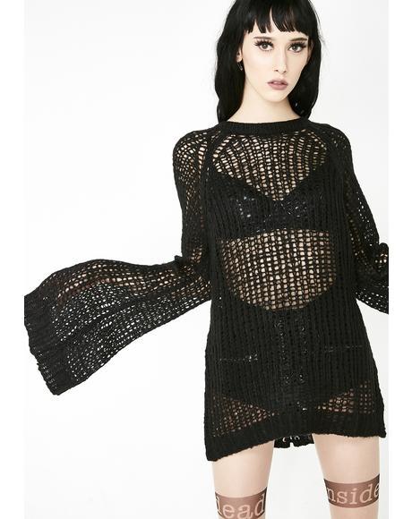 Audrey's Evil Knit Sweater