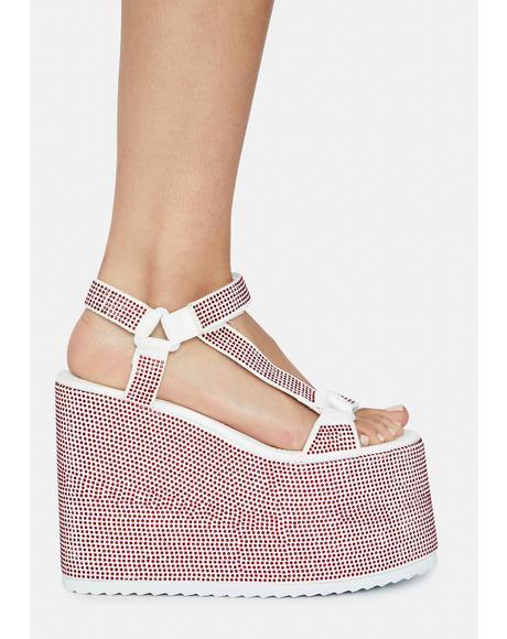 Series Platform Sandals