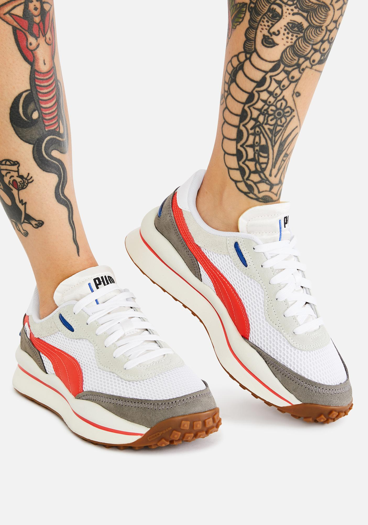 PUMA Style Rider Stream On Sneakers