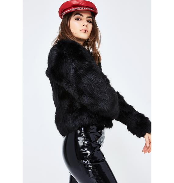 Chillin Villain Furry Jacket