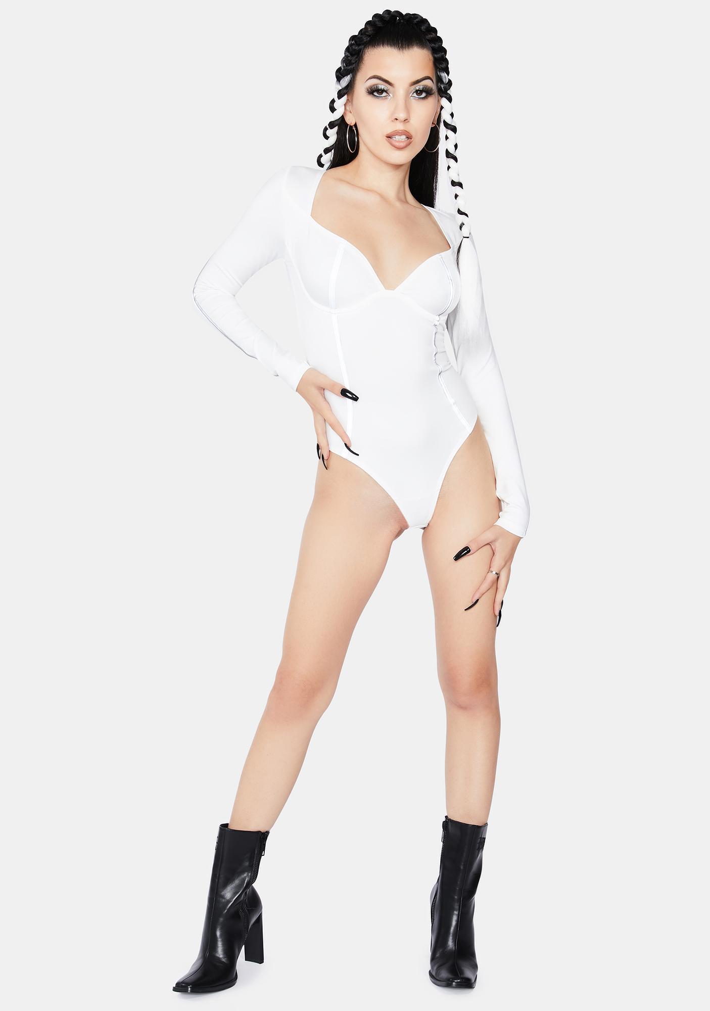 OW INTIMATES Nadia Reflective Bodysuit