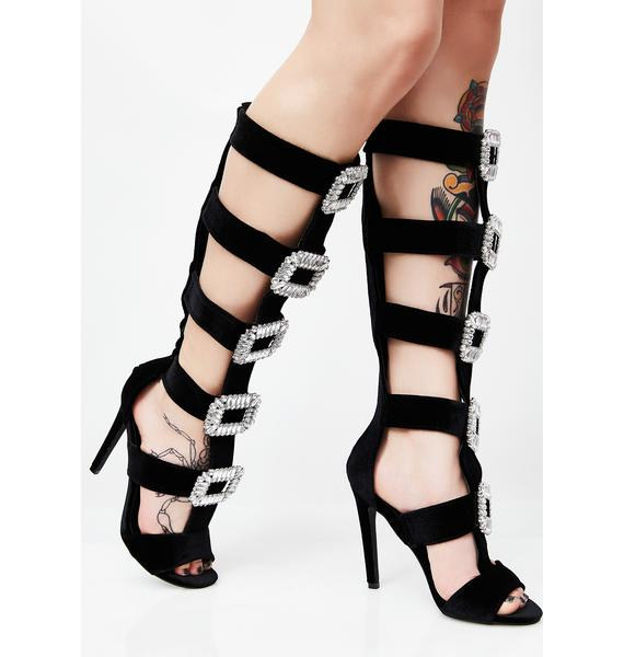 Bougie Talks Gladiator Sandals