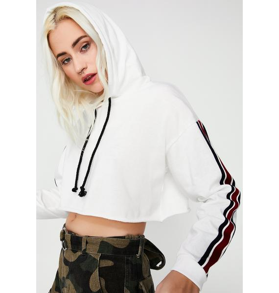 Give It All Cropped Hoodie