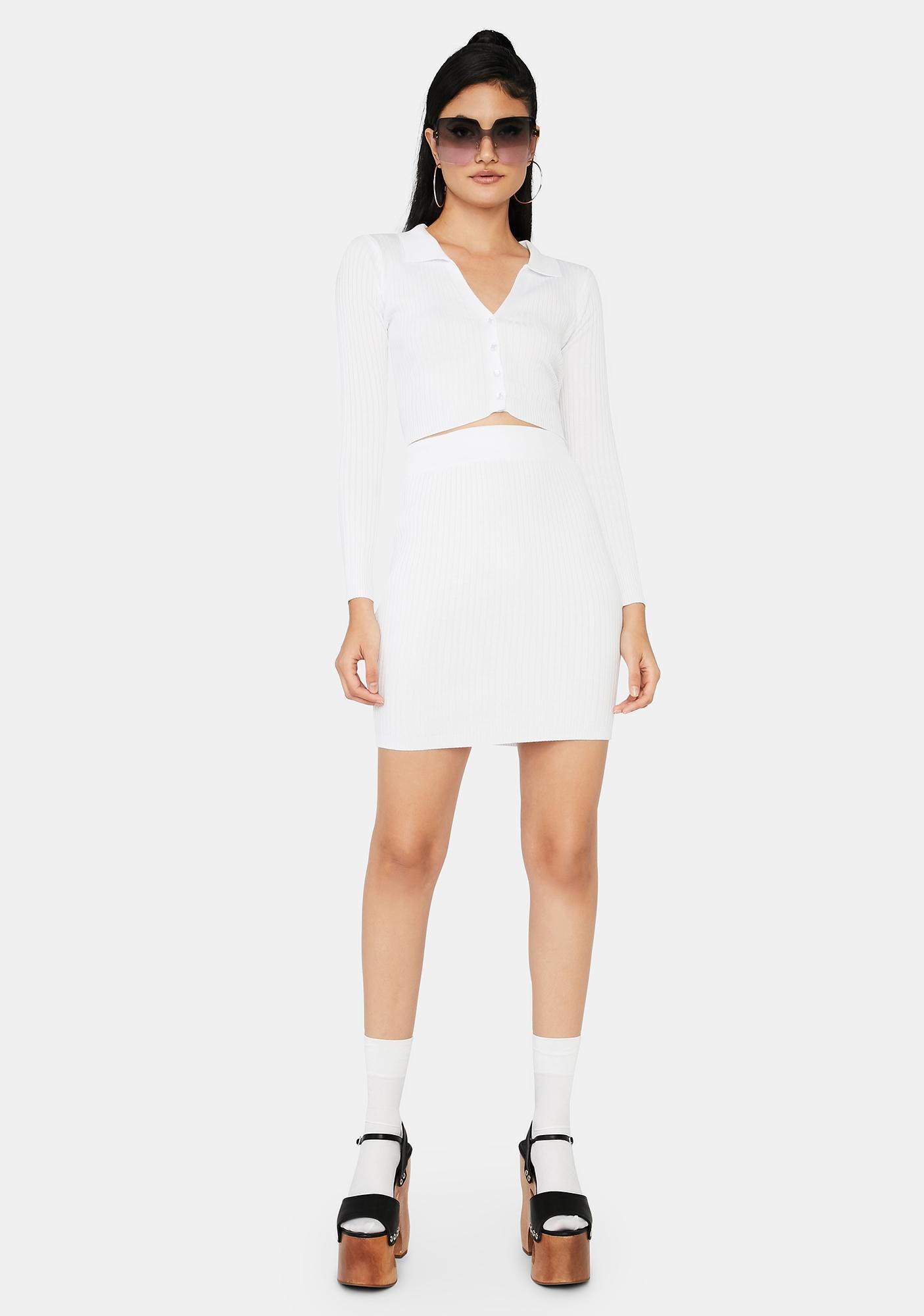 Angel Off Duty Cutie Skirt Set