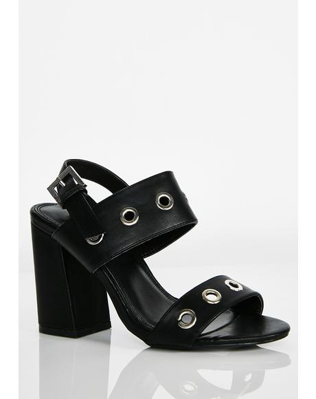 On Your Radar Grommet Heels