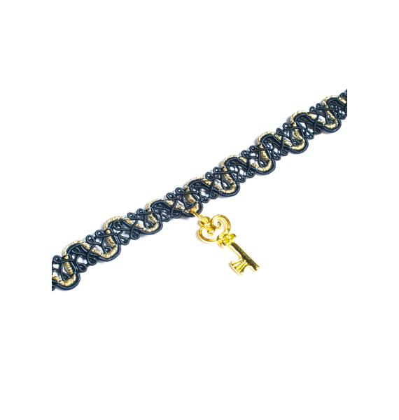 Key To Yer Heart Choker