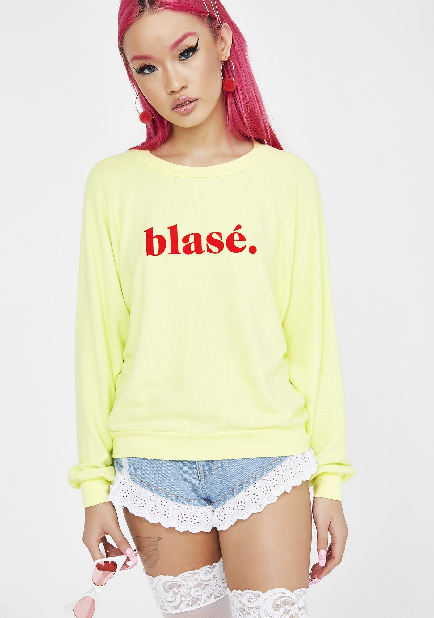 Wildfox Couture Blase Crewneck Sweatshirt