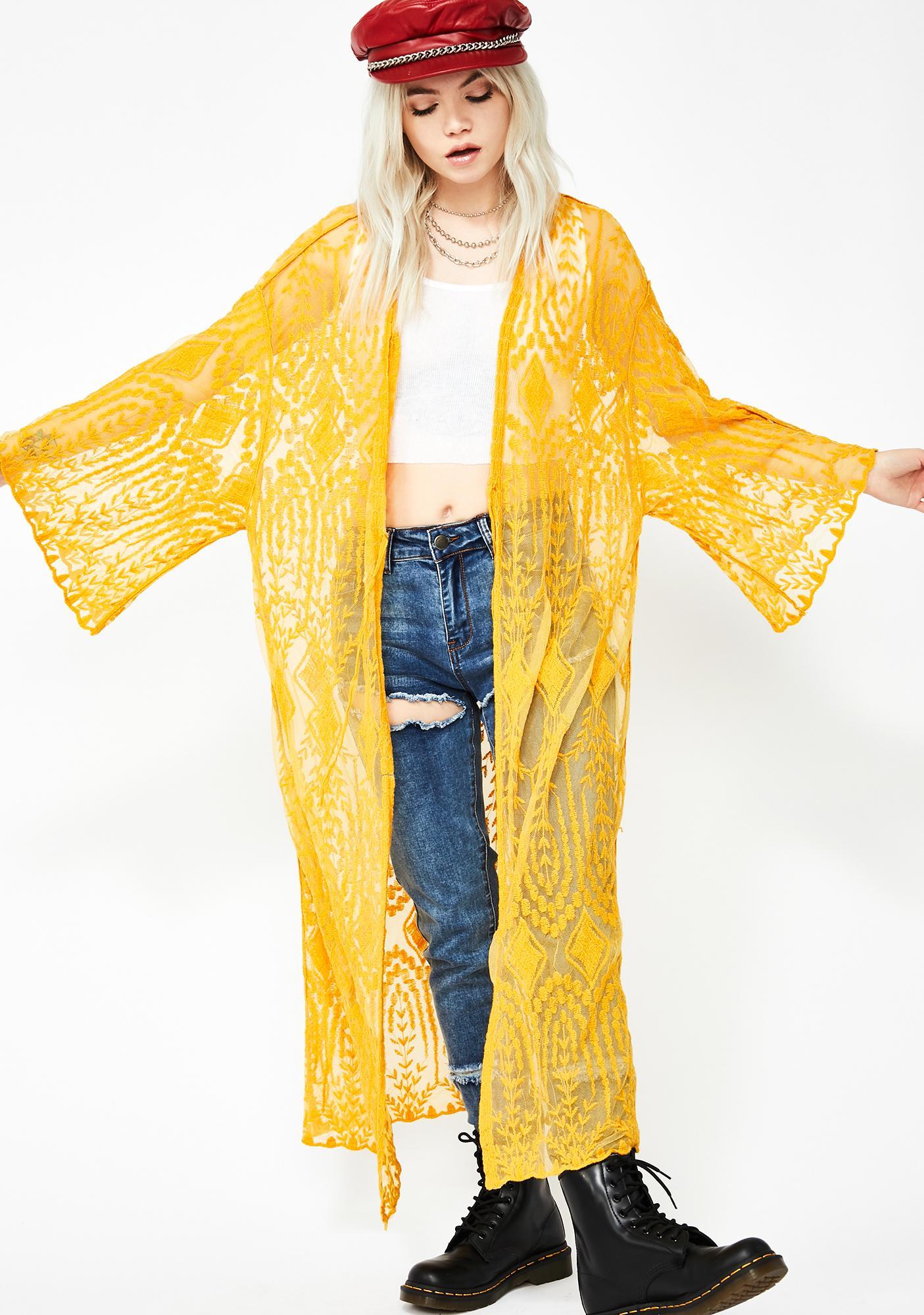 Festival Fomo Lace Kimono