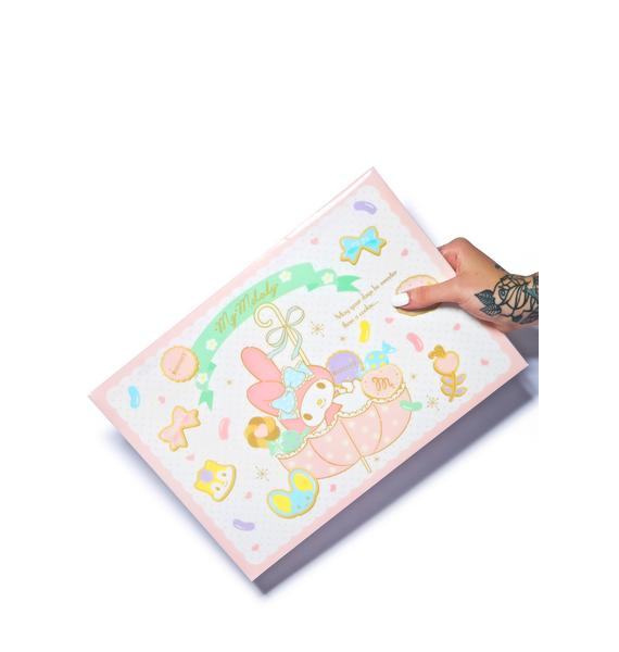 Sanrio My Melody Snap Envelope