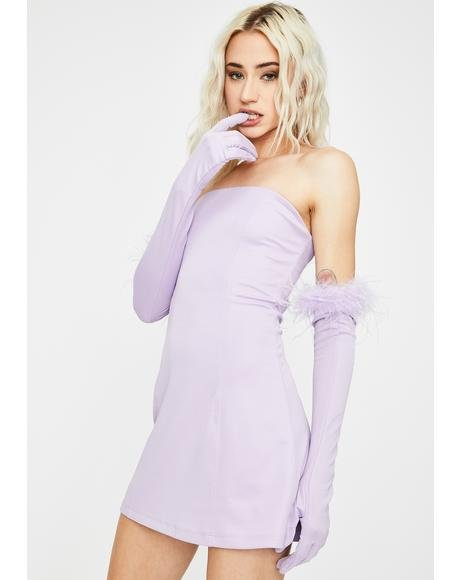Lilac Have Some Fun Strapless Dress