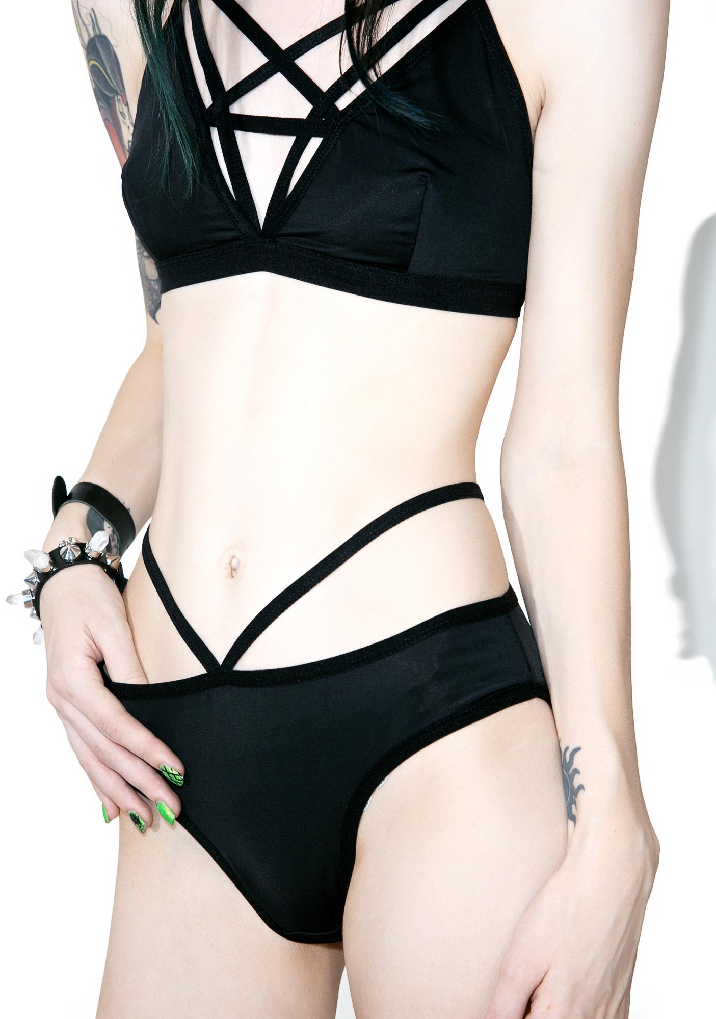 Killstar Sinner Miss Inferno Panty