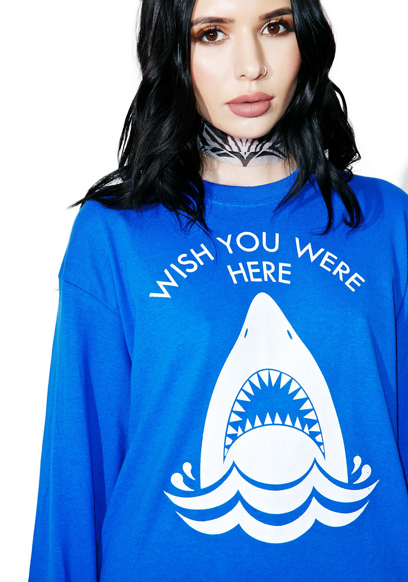Burger And Friends Wish You Were Here Long Sleeve Tee