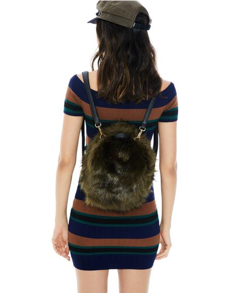 Erin Fuzzy Backpack