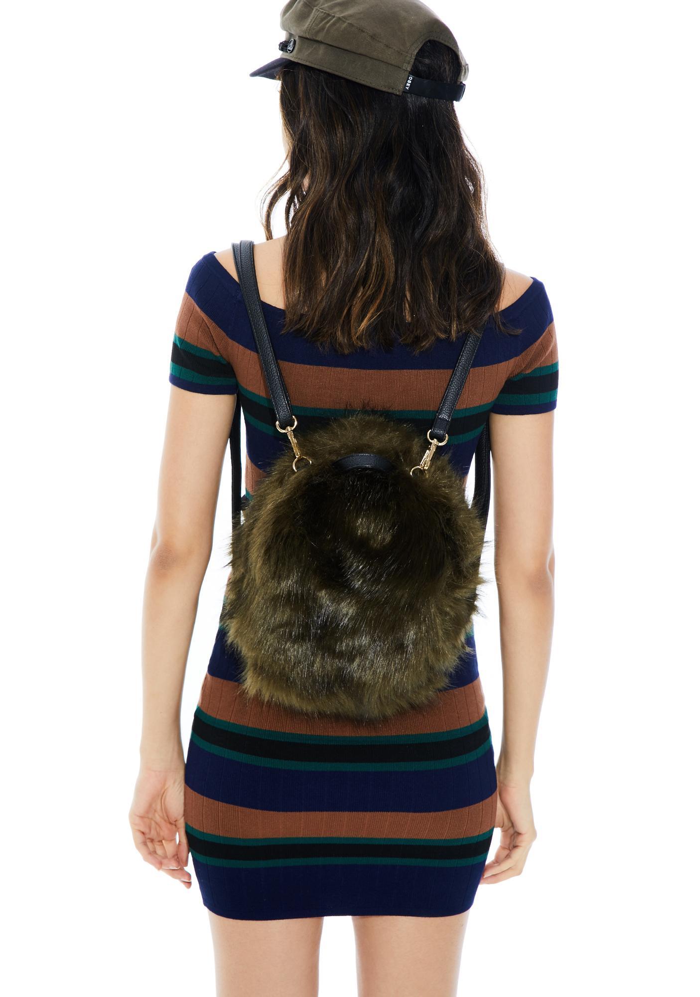 Erin Fuzzy Backpack