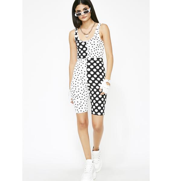 Hot Spot Polka Dot Biker Shorts