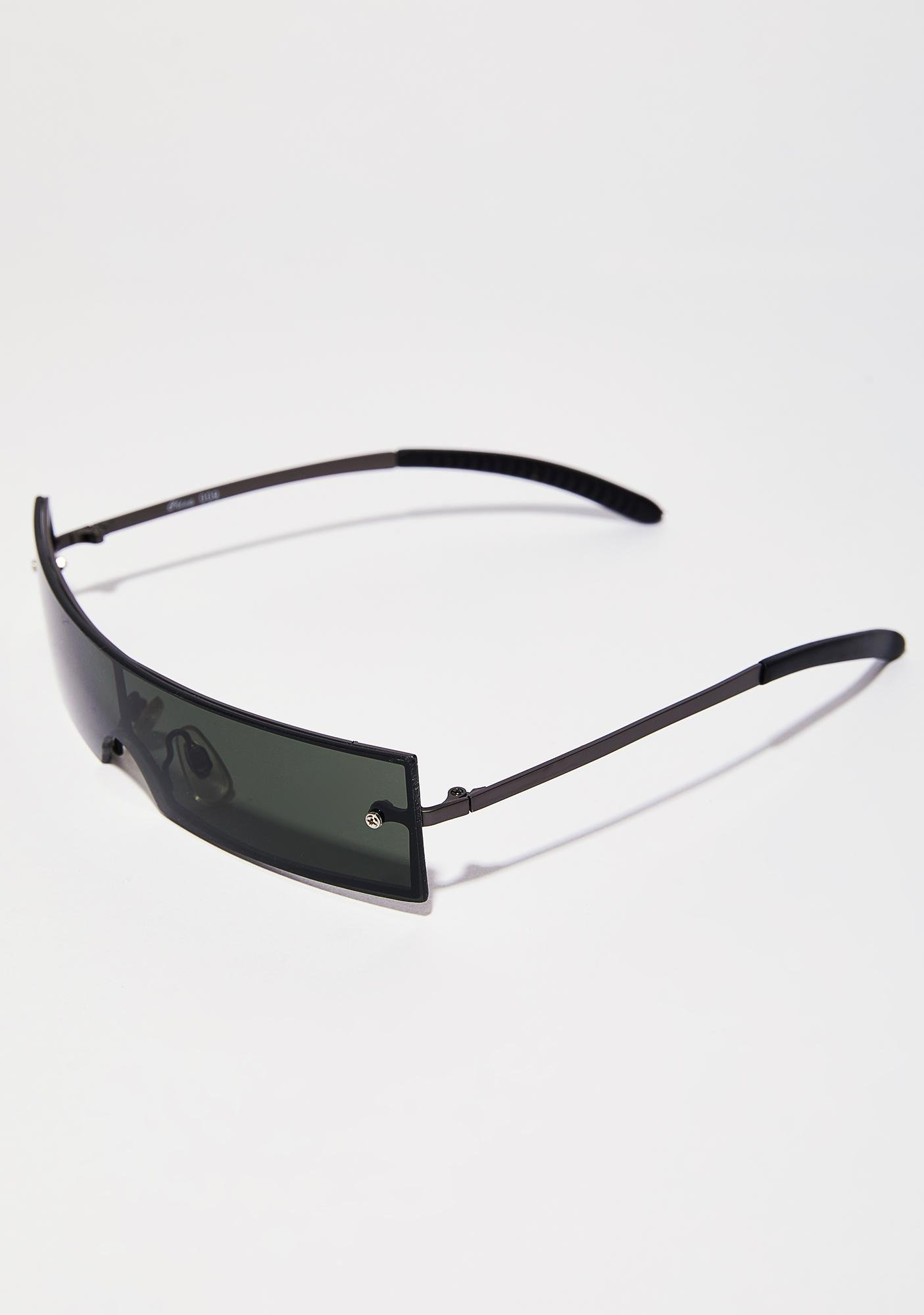 Forest Step Off Shield Sunglasses