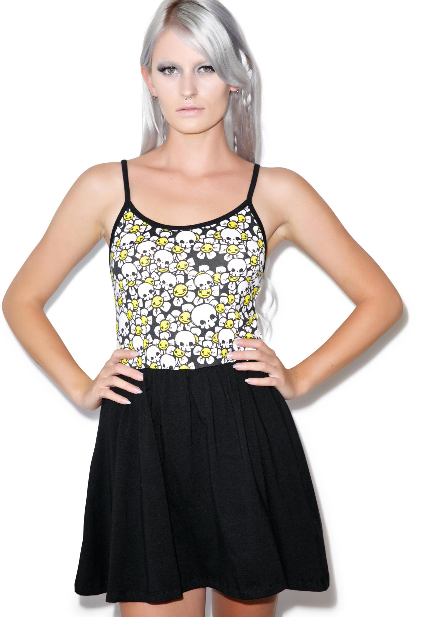 Dead Daisy Ballerina Dress