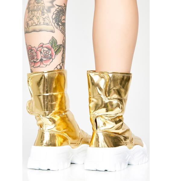 Atmospheric Freeze Puffer Boots