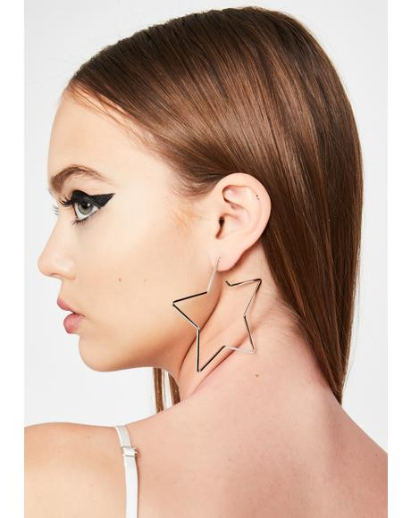 Almost Famous Star Earrings