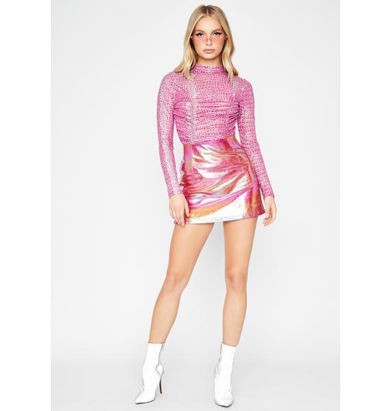 Deadly Diva Ruched Bodysuit