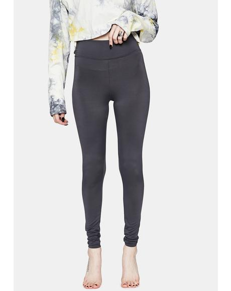 Charcoal Bootcamp Babe High Waist Leggings